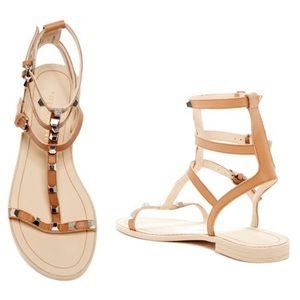 Rebecca Minkoff Georgina Studded Leather Sandals